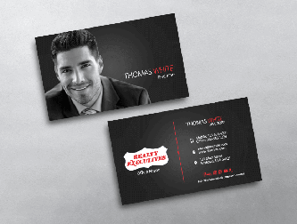 Realty executives business cards free shipping light modern realty executives business card design colourmoves Images