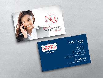 Realty executives business cards free shipping black silver realty executives business card template colourmoves Images