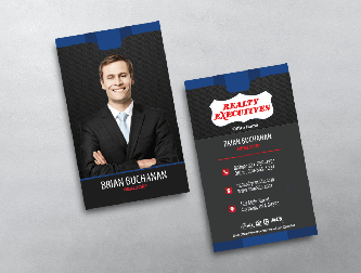 Realty executives business cards free shipping clean yellow realty executives business card template colourmoves
