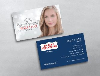 Realty executives business cards free shipping feminine design w portrait realty executives business card colourmoves