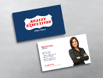 Realty executives business cards free shipping professional realty executives business card template colourmoves Images